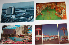 Las Vegas postcards 70's (4) International-Flamingo-Rivera -Dogs playing dice