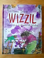 SIGNED 1ST EDITION of WIZZIL. QUENTIN BLAKE (ROALD DAHL) & WILLIAM STEIG. FIRST