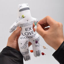 Authentic Personalised Revenge Voodoo Doll With 7pcs Skull Pins