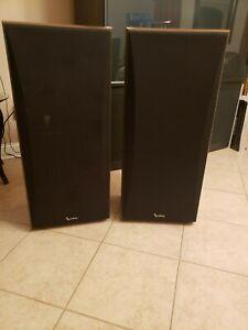 Infinity SM-155 Wood Floor Speakers