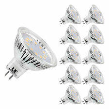 AC/DC12V 3.5W MR16 LED Bulb Warm White LED Spotlight-Equal to 35W GU5.3 10pack