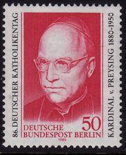 Germany Berlin 1980 Catholics Conf. SG B596 MNH
