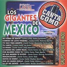NEW Pistas: Canta Como Los Grandes De Mexico (Audio CD)