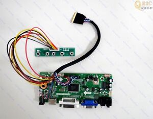 HDMI/DVI/VGA LCD Controller Board Driver Panel Kit for LP156WH2 TLR1 1366x768