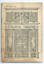 1904 - Colonial Theatre Program-Boston Klaw and Erlanger Mother Goose