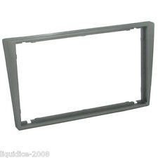 CT24VX36 CHEVROLET CELTA 2002 to 2010 DARK GREY DOUBLE DIN FASCIA ADAPTER PANEL