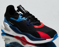 Puma x BMW Motorsport RS-2K Men's Black Blue Red Low Athletic Lifestyle Sneakers