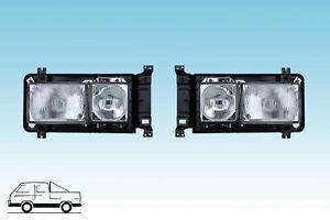 VW Bus T3  1 Paar Doppelscheinwerfer  NEU - mit  E- Prüfzeichen