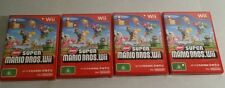 NINTENDO Wii NEW SUPER MARIO BROS Wii *near mint condition* COMPLETE