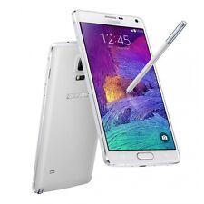 Samsung Galaxy Note 4 SM-N910F 32GB Blanco Desbloqueado Fábrica Smartphone