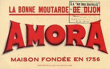BUVARD / PUBLICITAIRE / AMORA / MOUTARDE