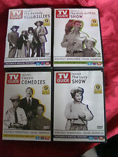 2004 TV Guide 4 DVD Set Timeless TV Humor Lucy Andy Griffith Beverly Hillbillies