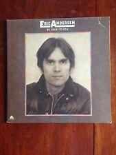 Eric Andersen Be True To You 1975 Arista LP Folk NM/EX