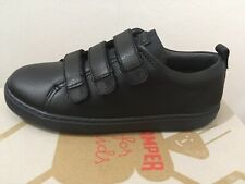 Camper Kids Black Leather Shoes, New With Box, Size EUR 30 (UK 12)