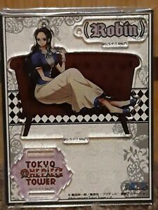 Rare One Piece Nico Robin Official Tokyo Tower Acrylic Stand from Japan 2019