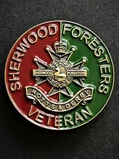 Sherwood Foresters Notts & Derby Regimental Colours Lapel Pin (SFND COL)