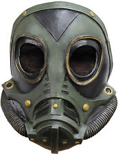 WW2 us army M3A1 masque gaz latex rubber soldat tv film fancy dress new