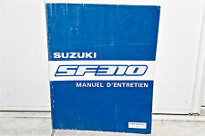 MANUAL'MAINTENANCE SUZUKI SF310 complet DE 1989 3 D cms'thickness - 1,3 kg