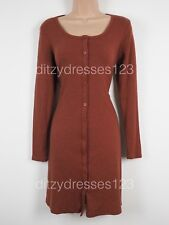BNWT Button Up Swing Dress Size 10 Jersey Stretch by Glamorous RRP £33