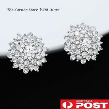 Unbranded Crystal Clip - On Fashion Earrings