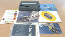 Renault Clio book pack Manual from a 2004 model car