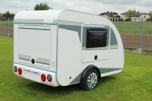 Mini – Camper TMC Schlafwagen Schlafanhänger Campinganhänger Wohnwagen