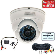 Wide Angle Audio Security Camera with SONY CCD IR Outdoor Night Vision CCTV mek