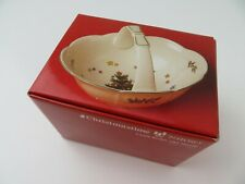 Candle Basket with Handle Christmas Time Nikko Made in Japan