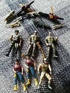 Kenner Alien Marines & Ripley Figures early 1990's bundle