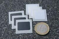 6 x NFC Tag Sticker XS schwarz/weiß NTAG203 / Topaz 512 - für ALLE NFC Geräte!!!