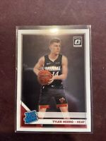 2019-20 Panini Donruss Optic Tyler Herro Rookie RC Miami Heat #172