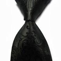 New 100% Silk Men's Tie Necktie Classic Paisley Mix Color JACQUARD WOVEN Style