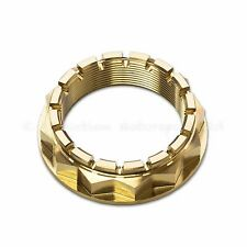 Ducati Panigale 1098, 1198 S,  1199 S, 1299 S Gold Titanium Rear Wheel Axle Nut