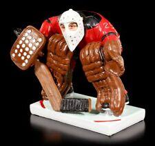 Lustige Eishockey Torwart Figur in voller Rüstung - Funny Sports - Geschenk
