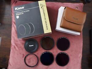 Kase Wolverine Magnetic Circular Filters 77mm Professional Kit