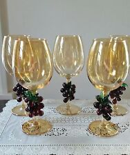 Irredescent Wine Glasses