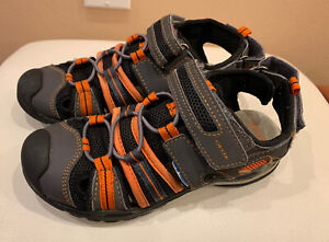 Geox Boys Respira Sandals, Size 32 ( 1 US size In Youth)