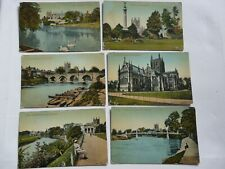 Hereford. 6 Early Valentines Postcards Related to the Same Person
