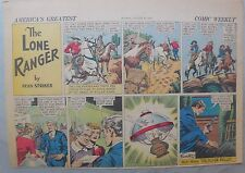 Lone Ranger Sunday Page by Fran Striker and Charles Flanders from 8/20/1939