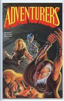 Adventurers 1986 series # 9 very fine comic book