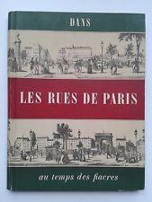 """Léon-Paul FARGUE """" Dans les rue de PARIS..."""", Edit° du Chêne 1963 photographie"""