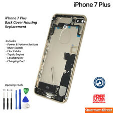 NEW iPhone 7 Plus Fully Assembled Back Cover Housing with ALL Parts - GOLD