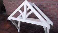 Reduced wooden front door canopy