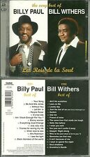BILLY PAUL + BILL WITHERS ( 2 CD ) / BEST OF - 33 TITRES