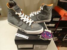 f722e7c57bc2 NEW 2009 Converse POORMAN WEAPON HI UNDEFEATED UNDFTD GRAY SZ 11 RARE