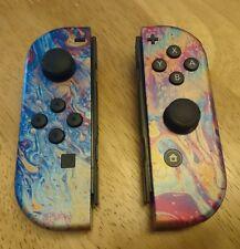 Custom Nintendo Switch Joy-Con Controller Pair - Oilslick.