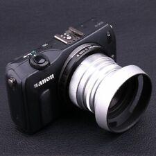 FUJIAN 35mm f/1.6 C Mount CCTV lens for Canon EOS M EF-M Mirrorless Camera Slive