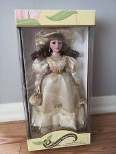 "Timeless Treasures Genuine 18"" Poreclain Doll (Damaged)"