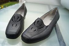 Rôdeur Femmes Comfort Chaussures Slipper Escarpins Cuir M. dépôts T 4 H 37 neuf +2