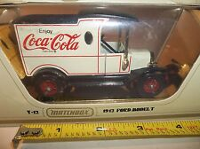 MATCHBOX MODELS OF YESTERYEAR COCA COLA 1912 MODEL T FORD TRUCK MINT IN BOX GOLD